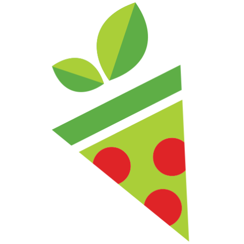 PizzaVegan Slice Logo
